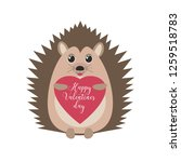 happy valentine's day. greeting ... | Shutterstock .eps vector #1259518783