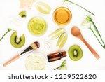 top view nourishing natural... | Shutterstock . vector #1259522620