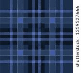 dark navy and blue scottish... | Shutterstock .eps vector #1259527666