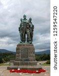 spean bridge  scotland  uk  ... | Shutterstock . vector #1259547220