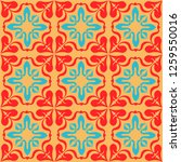 talavera pattern.  indian... | Shutterstock .eps vector #1259550016