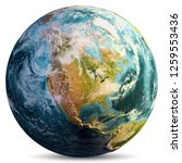 Planet Earth Map. Elements Of...