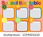 background frame design of...   Shutterstock . vector #1259601610