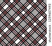 seamless tartan plaid pattern.... | Shutterstock .eps vector #1259607493