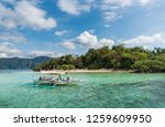 coron  philippines   january 30 ... | Shutterstock . vector #1259609950