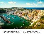 panoramic view of corricella... | Shutterstock . vector #1259640913