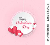 happy valentines day greeting... | Shutterstock .eps vector #1259651476
