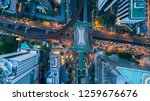 bangkok skyline and skyscraper... | Shutterstock . vector #1259676676