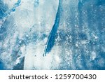 the texture of the ice. the... | Shutterstock . vector #1259700430