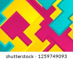 colorful abstract corporate...   Shutterstock .eps vector #1259749093