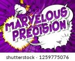 marvelous precision   vector... | Shutterstock .eps vector #1259775076