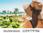 celebrate while traveling.... | Shutterstock . vector #1259779786