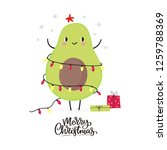 merry christmas and happy new... | Shutterstock .eps vector #1259788369