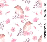 seamless pattern with... | Shutterstock . vector #1259802640