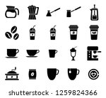 set of cafe icon  modern... | Shutterstock .eps vector #1259824366