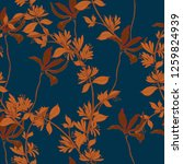 beautiful seamless floral...   Shutterstock .eps vector #1259824939