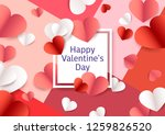 3d paper hearts of different...   Shutterstock .eps vector #1259826520