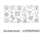 vector business values concept... | Shutterstock .eps vector #1259839603