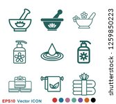 aromatherapy icon  accessory... | Shutterstock .eps vector #1259850223