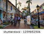singapore  singapore   october...   Shutterstock . vector #1259852506
