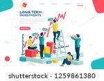 alternative progress  building...   Shutterstock .eps vector #1259861380