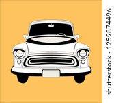 Vintage Car  Vector...