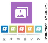 upload multiple images flat...   Shutterstock .eps vector #1259888893