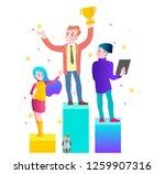 vector illustration concept of... | Shutterstock .eps vector #1259907316