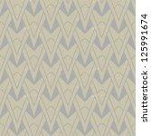 organic geometric art deco... | Shutterstock .eps vector #125991674