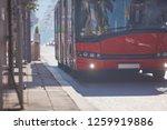 public transportation   bus in... | Shutterstock . vector #1259919886