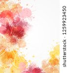 abstract modern background with ... | Shutterstock .eps vector #1259923450