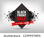 black friday sale abstract... | Shutterstock .eps vector #1259957893