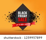 black friday sale abstract... | Shutterstock .eps vector #1259957899