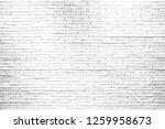 white brick wall background...   Shutterstock . vector #1259958673