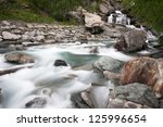 waterfall lillaz in gran... | Shutterstock . vector #125996654
