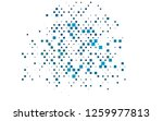 light blue vector layout with... | Shutterstock .eps vector #1259977813