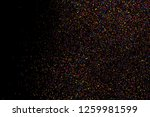 abstract explosion of confetti. ... | Shutterstock .eps vector #1259981599