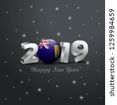 2019 happy new year turks and... | Shutterstock .eps vector #1259984659