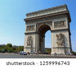 one of the symbols of paris is... | Shutterstock . vector #1259996743