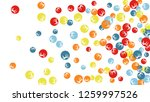 feminine floral pattern with... | Shutterstock .eps vector #1259997526