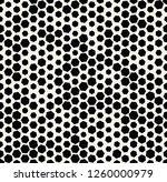 hexagon halftone seamless...   Shutterstock .eps vector #1260000979