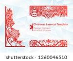 laser cutting design for...   Shutterstock .eps vector #1260046510