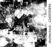 black white gunge illustration... | Shutterstock . vector #1260050896