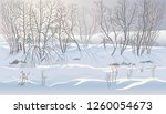 Winter Landscape With...