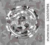 market research written on a... | Shutterstock .eps vector #1260056986