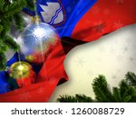 slovenia flag happy new year ... | Shutterstock . vector #1260088729