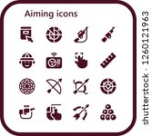 vector icons pack of 16 filled... | Shutterstock .eps vector #1260121963