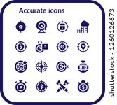 vector icons pack of 16 filled... | Shutterstock .eps vector #1260126673