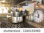 close up pressure gauge on... | Shutterstock . vector #1260133483