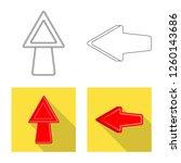 vector design of element and...   Shutterstock .eps vector #1260143686